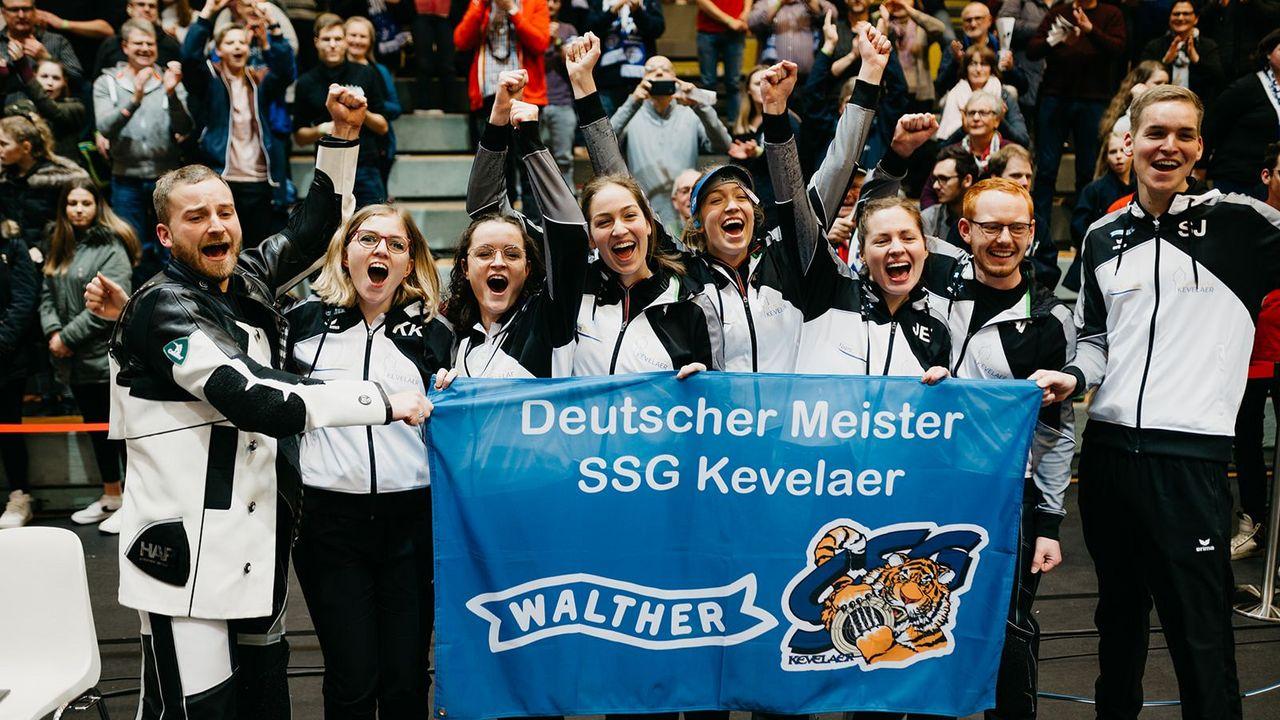 Foto: DSB / Das Team von Titelverteidiger SSG Kevelaer gilt als Top-Favorit auf den Titel.
