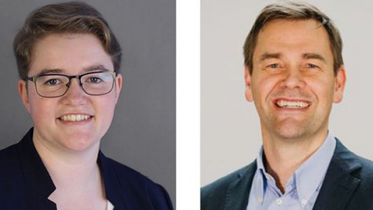 Fotos: DSB / Führungsakademie: Lisa Reich und Thilo von Hagen im Interview.
