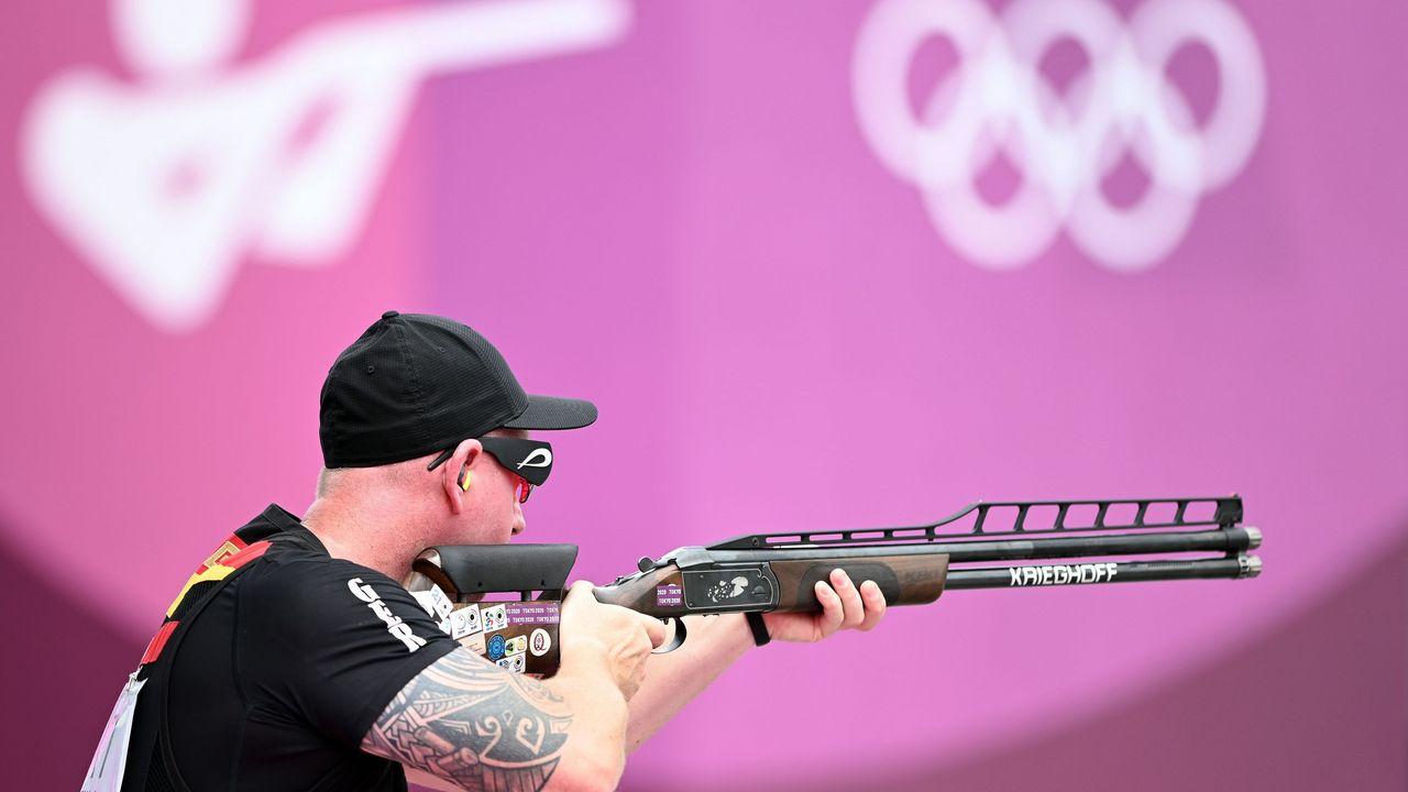 Foto: Picture Alliance / Lieferte unter den olympischen Ringen eine starke Leistung ab: Andreas Löw.