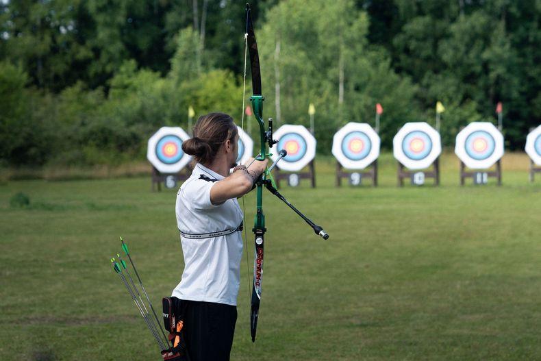 Foto: DSJ / Der Recurvebogen war eine von insgesamt sechs ausgetragenen Disziplinen in Suhl.