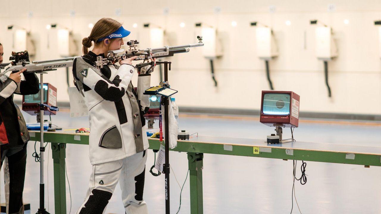 Foto: DSB / Anna Janßen zeigte eine bärenstarke Leistung mit dem Luftgewehr.