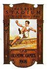 Plakat Olympische Spiele 1908