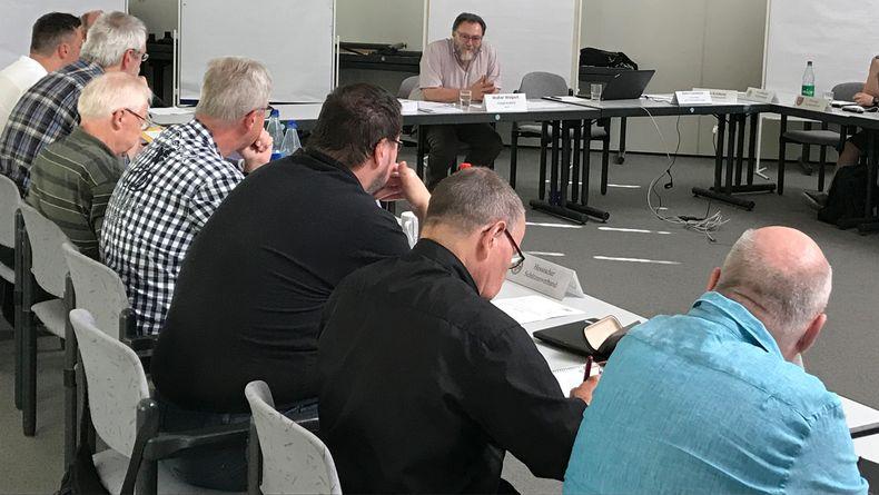 Foto: DSB / Tagung 2019 der Waffenrechtsreferenten im DSB.