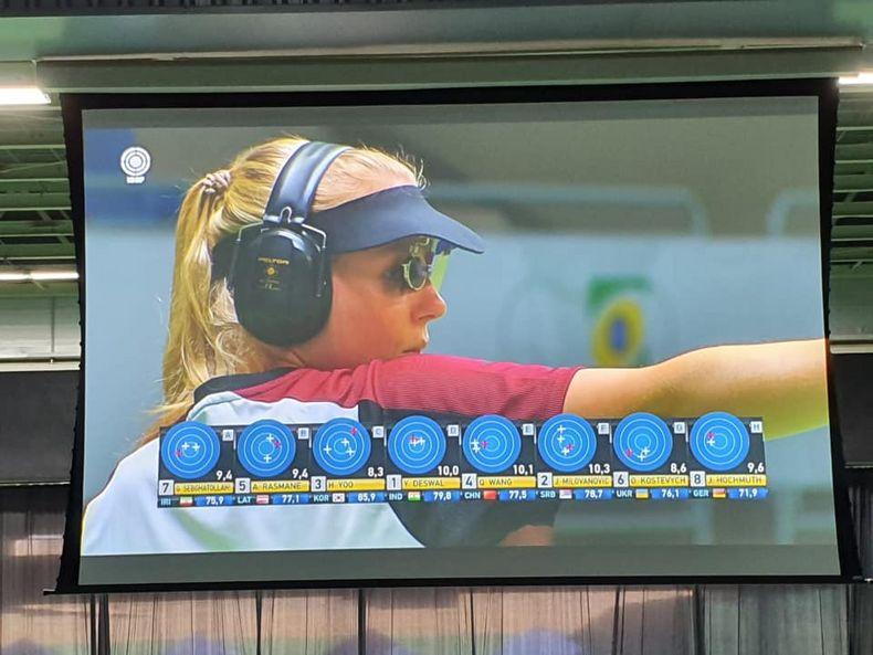 Foto: Julia Hochmuth / Zeigte nach ihrem deutschen Rekord in München abermals eine famose Leistung: Julia Hochmuth.