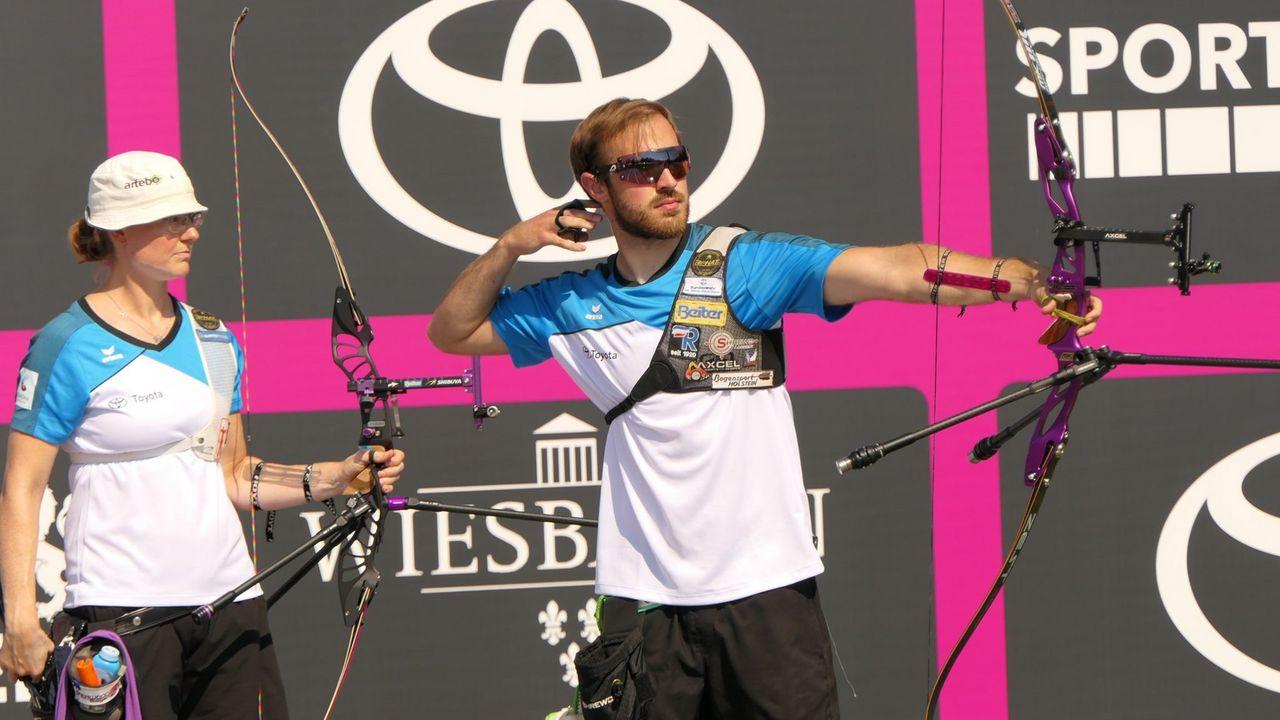 Foto: DSB / Die Unruhs und Felix Wieser kämpfen beim Online-Fernwettkampf am Sonntag um den Sieg.