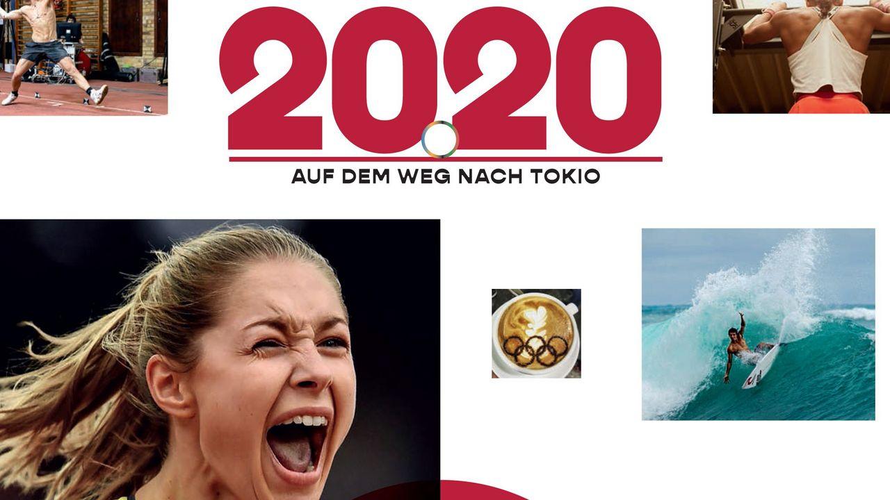 """Foto: 2020 / Das Cover von """"2020"""" versprüht Lust auf Tokio."""