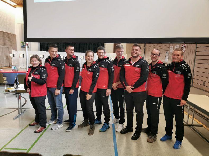Foto: SGi Waldenburg / Geht selbstbewusst und motiviert in den Heimwettkampf: Das Team der SGi Waldenburg.