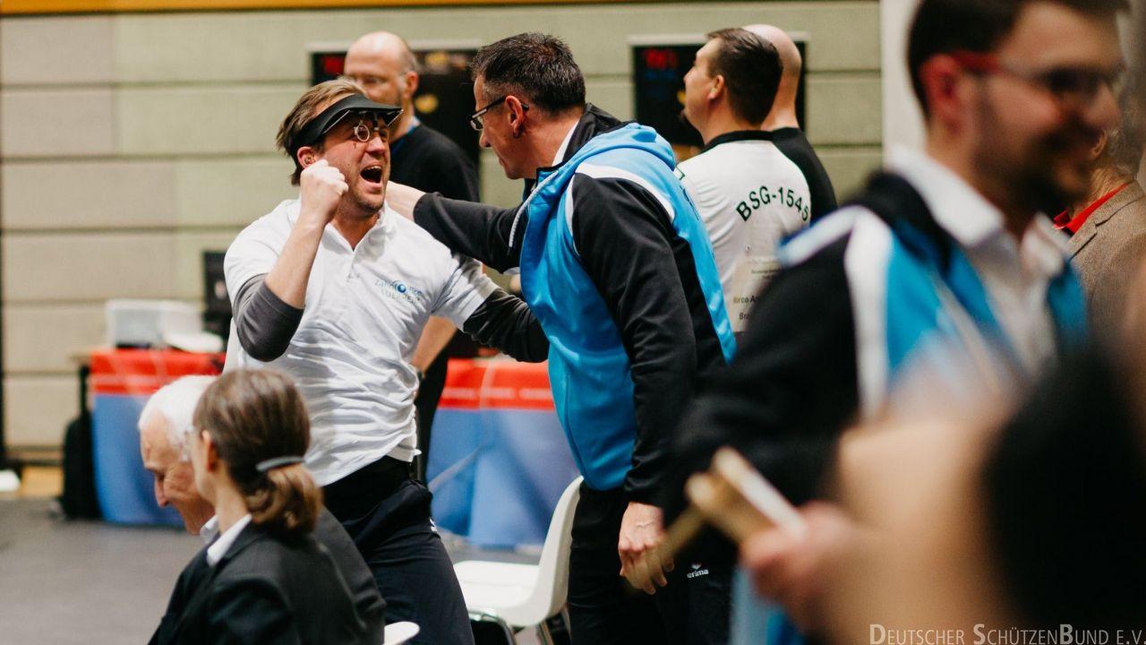 Foto: DSB / Pure Freude bei René Potteck als er vom Meistertitel im letzten Jahr erfuhr.