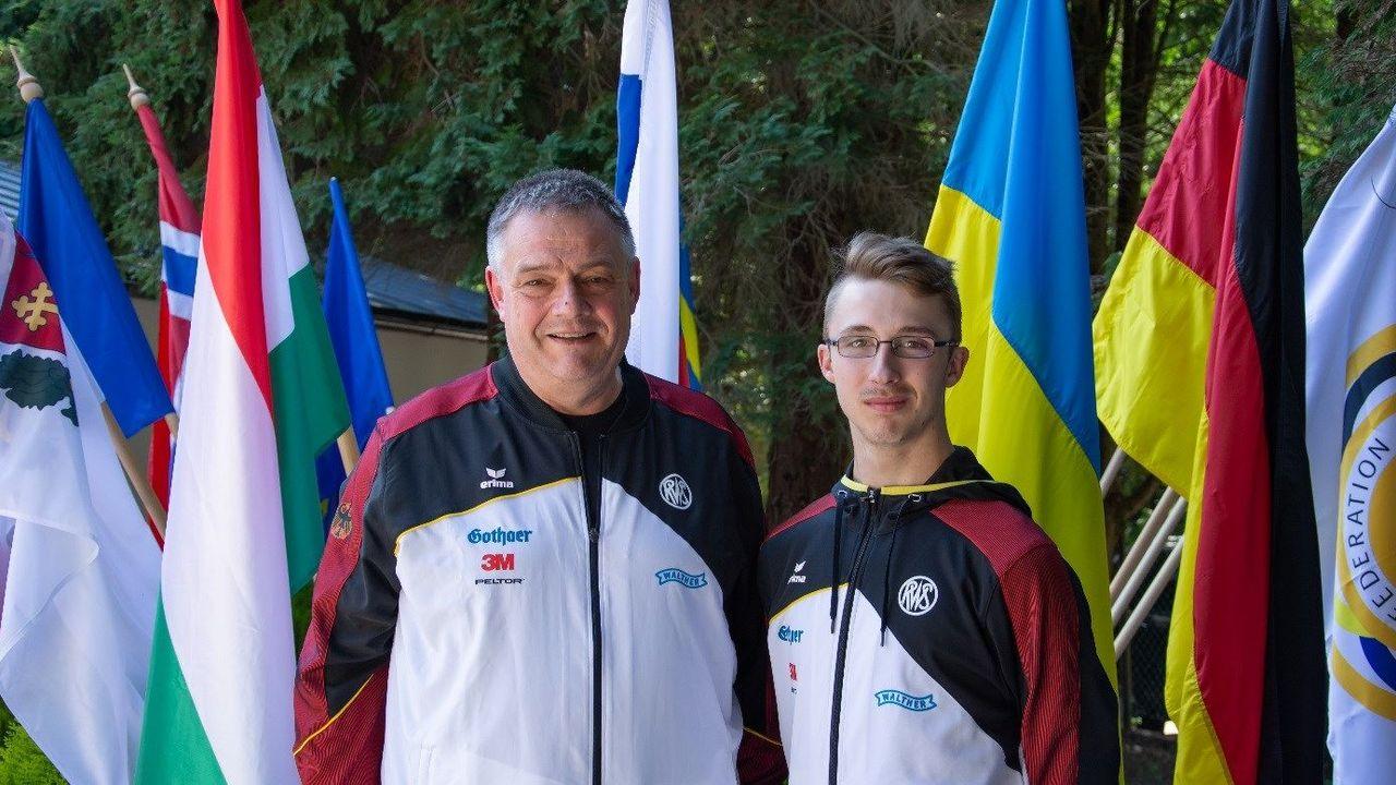 Foto: DSB / Kris Großheim wird Vizeeuropameister.