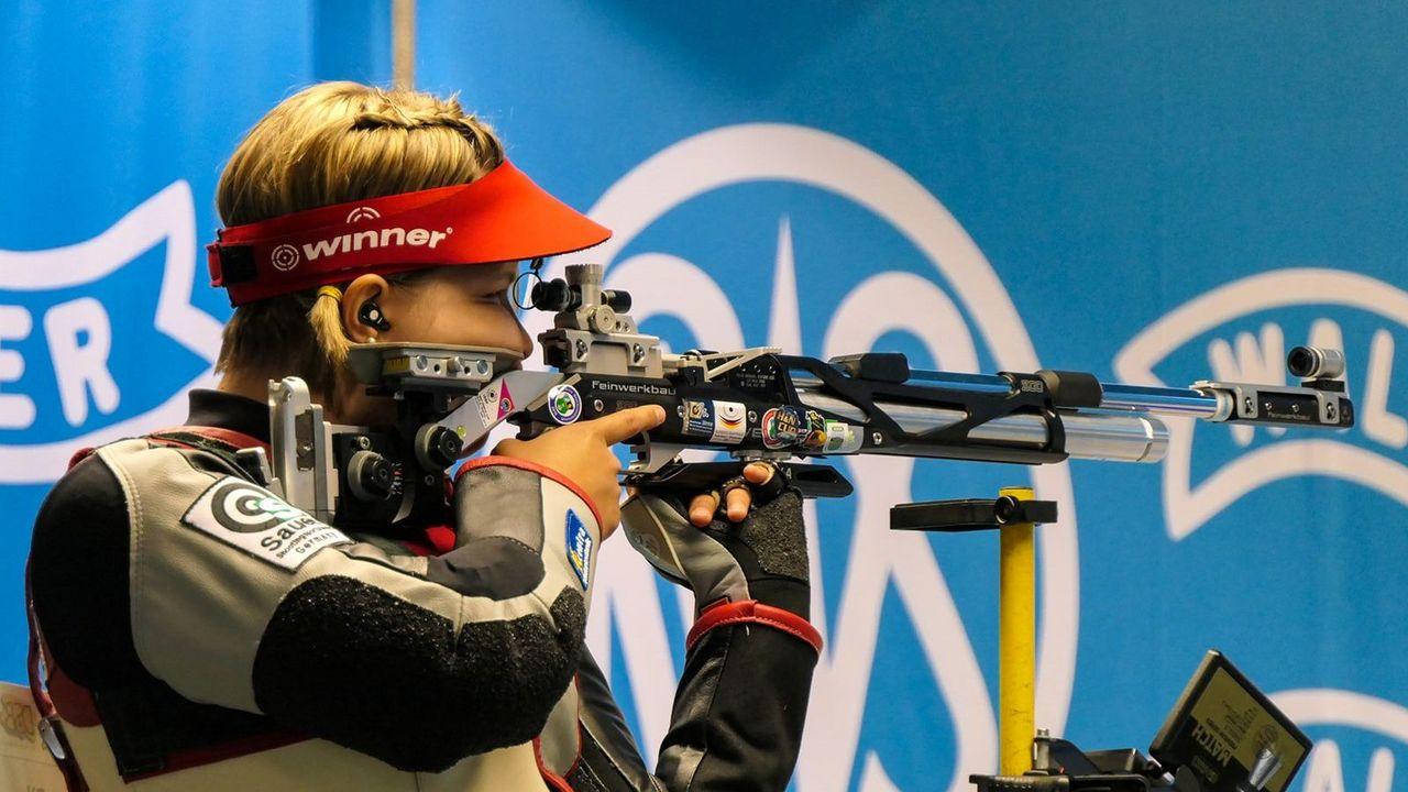 Bild: DSB / Selina Gschwandter entwickelte sich mit ihrem Vater an ihrer Seite zu einer der erfolgreichsten deutschen Gewehrschützinnen der letzten Jahre.