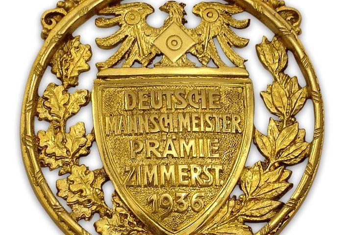 Meisterschaftsabzeichen, 1936