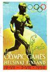 Plakat Olympische Spiele 1952