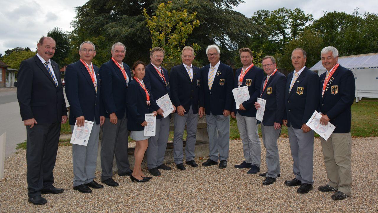 Foto: DSB / Das erfolgreiche DSB-Team in Bisley.