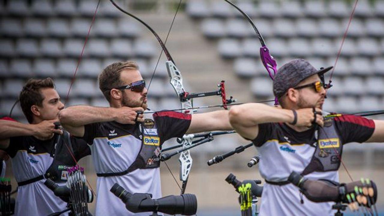 Weltcup Bogen Paris: Recurve-Männer im Gold-Finale
