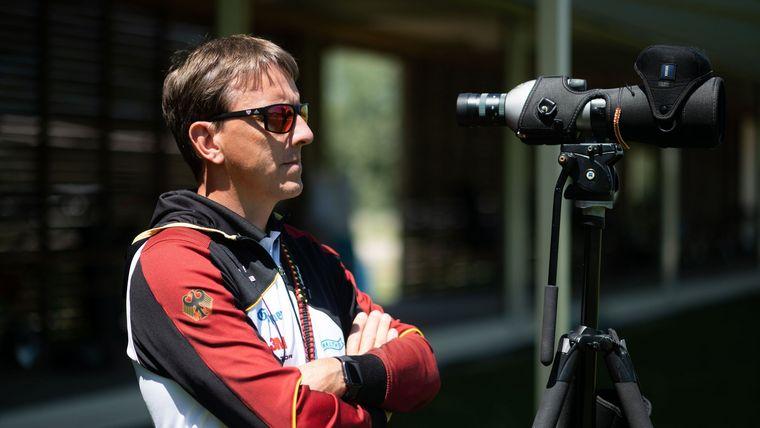 Foto: DSB / Alles im Blick! Bundestrainer Oliver Haidn hofft bei der WM auf die Fortsetzung der guten Ergebnisse.