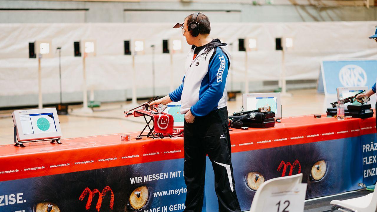 Foto: DSB / Damir Mikec vom SV Kelheim Gmünd liebt es von den Fans an sein Limit gepusht zu werden.