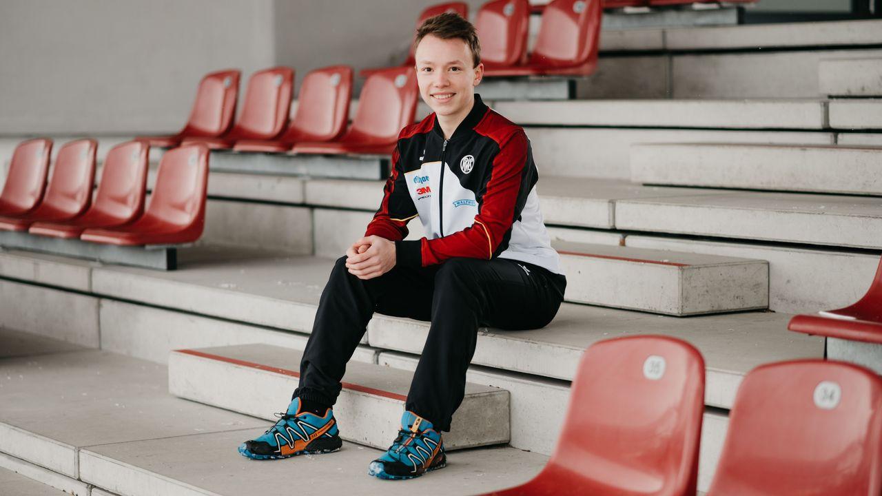 Foto: DSB / Max Braun freut sich auf sein Weltcup-Debüt bei den Erwachsenen.