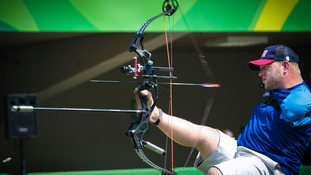 Foto: World Archery / Hochklassiges Bogenschießn mit Behinderung - zu sehen beim Para Europacup Finale in Wiesbaden.