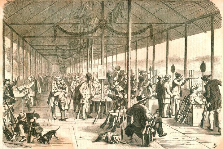 Schützenfest Gotha, 1861