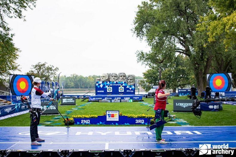 Foto: World Archery / Das Goldfinale aus der Sicht der Athletinnen.