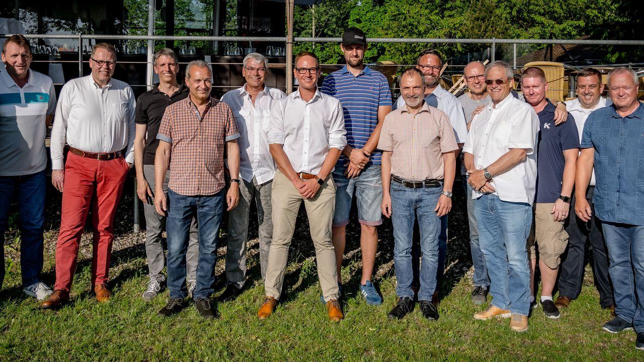 Foto: DSB / Die Teilnehmer beim achten Treffen des Förderkreis Wurfscheibe.