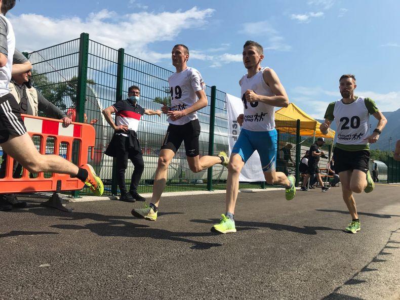 Bild: Sven Müller / Target Sprint müssen nicht nur schnell und gut schießen können, sondern brauchen auch flinke Beine.