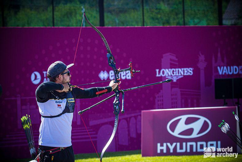 Foto: World Archery / Zeigt sich in bestechender Form: Maximilian Weckmüller.