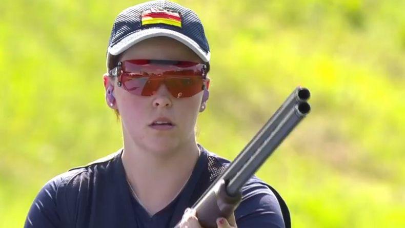 Foto: DSB / Nadine Messerschmidt liegt nach Teil eins der Qualifikation gemeinsam mit Katrin Butterer an der Spitze.
