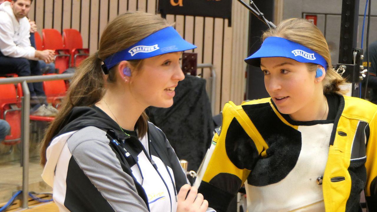 Foto: DSB / Zwillinge für Deutschland bei der EM in Breslau: Anna Janßen (links) tritt bei den Erwachsenen an, Franka Janßen bei den Juniorinnen.
