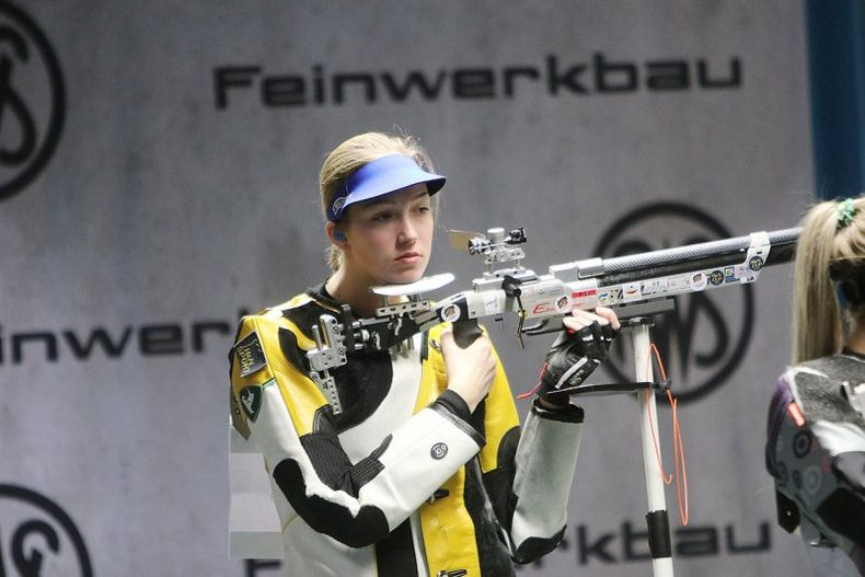 Foto: BSSB / Franka Janßen überzeugte mit zwei guten Wettkämpfen in München.