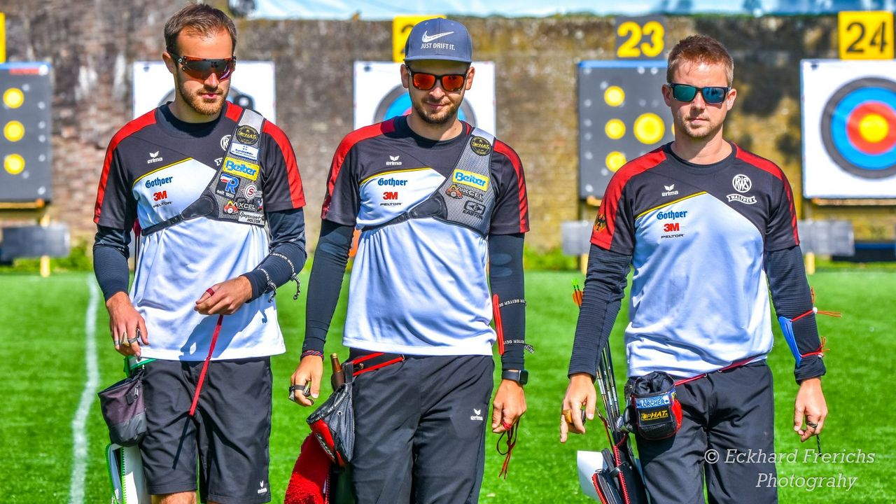 Foto: Eckhard Frerichs / Für den DSB in Antalya am Start: Florian Unruh, Max Weckmüller und Cedric Rieger (v.l.).