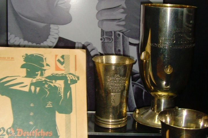 Bundesschießen Vitrine 1934