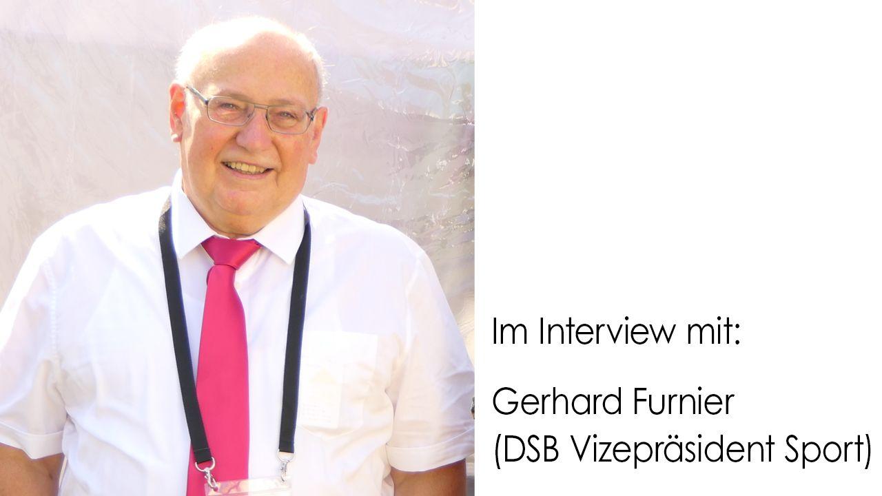 """Foto: DSB / DSB-Vizepräsident Gerhard Furnier freut sich auf den """"Meisterschützen 2020"""" #DuUndDeinVerein"""
