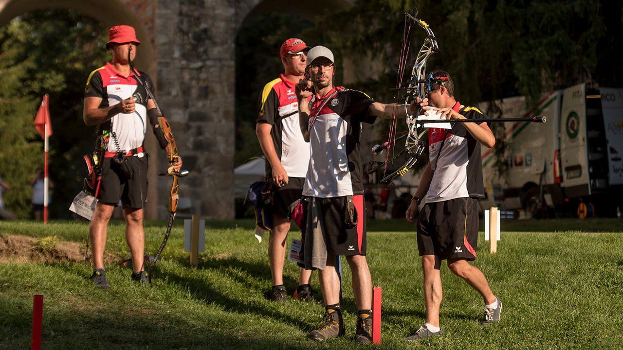 Foto: World Archery Europe / 12 DSB-Athleten kämpfen bei der EM in Mocrice erneut um Medaillen.