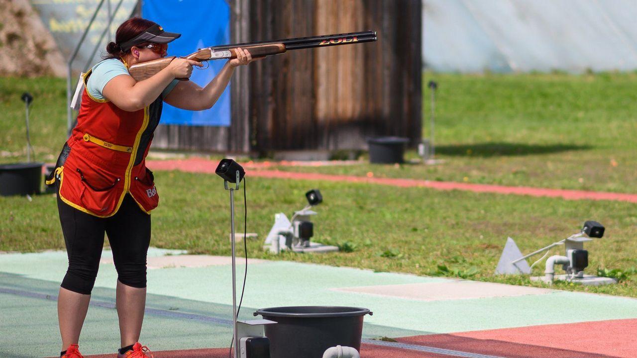 Foto: DSB / Nadine Messerschmidt hat sich auf Weltranglistenplatz zwei geschossen.