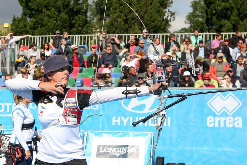Foto: DSB / Bitte macht´s noch einmal! Elena Richter und die DSB-Recurverinnen standen im vergangenen Jahr im Goldfinale.