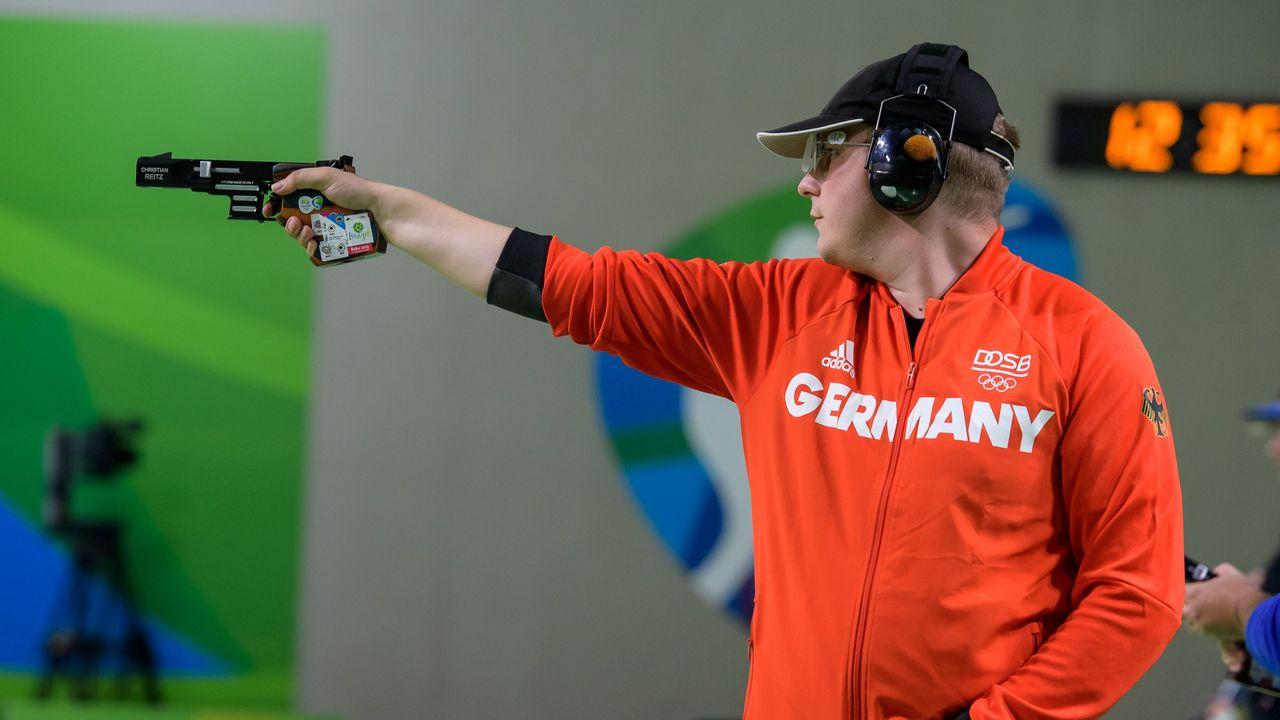 Bild: ISSF / Für Top-Schützen wie Christian Reitz zählt eine Teilnahme oder Medaille bei den Olympischen Spielen zu den größten Zielen.