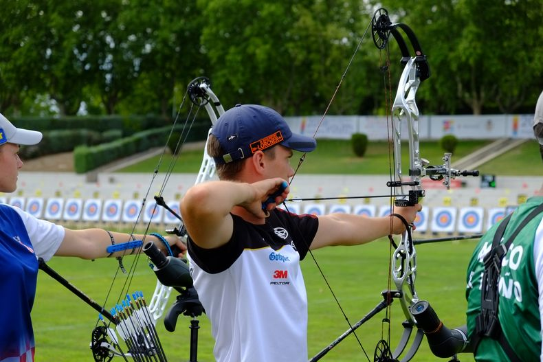 Foto: DSB / Paolo Kunsch schoss sich bei seiner ersten WM auf den hervorragenden 6. Platz.