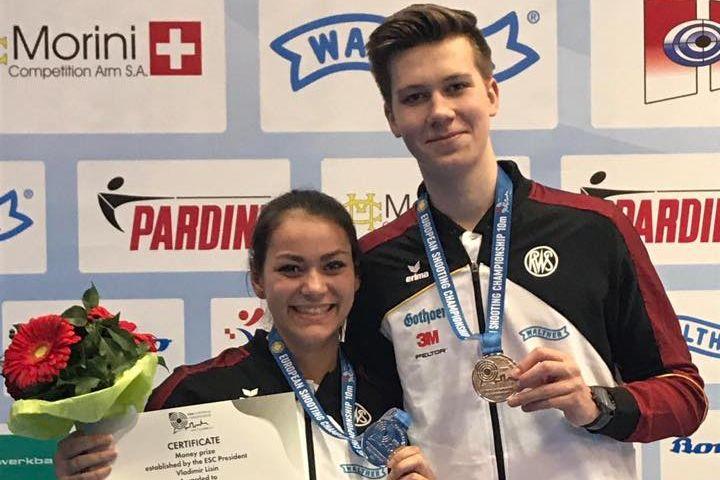 Andrea Heckner und Jonathan Mader