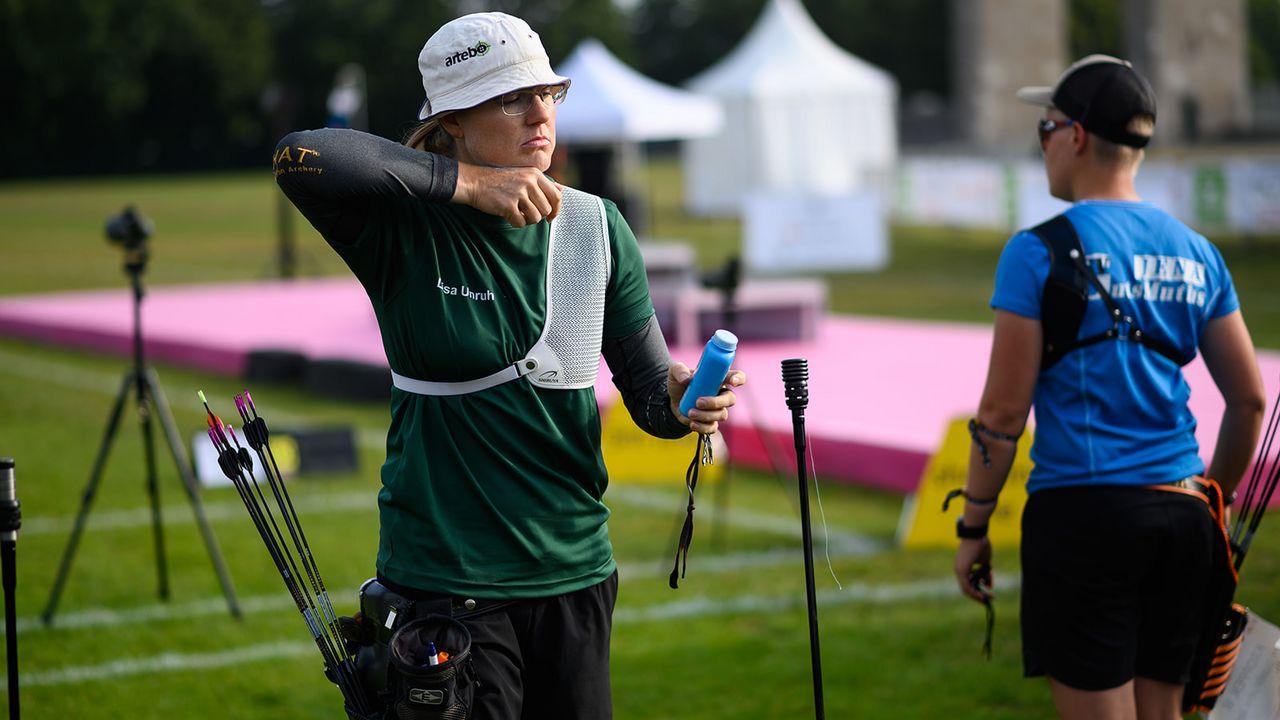 Bild: DSB / Spitzensportlerinnen wie Lisa Unruh haben ihre ganz individuelle Routine vor dem Wettkampf, um Stress abzubauen und den Fokus auf das Wesentliche zu lenken.