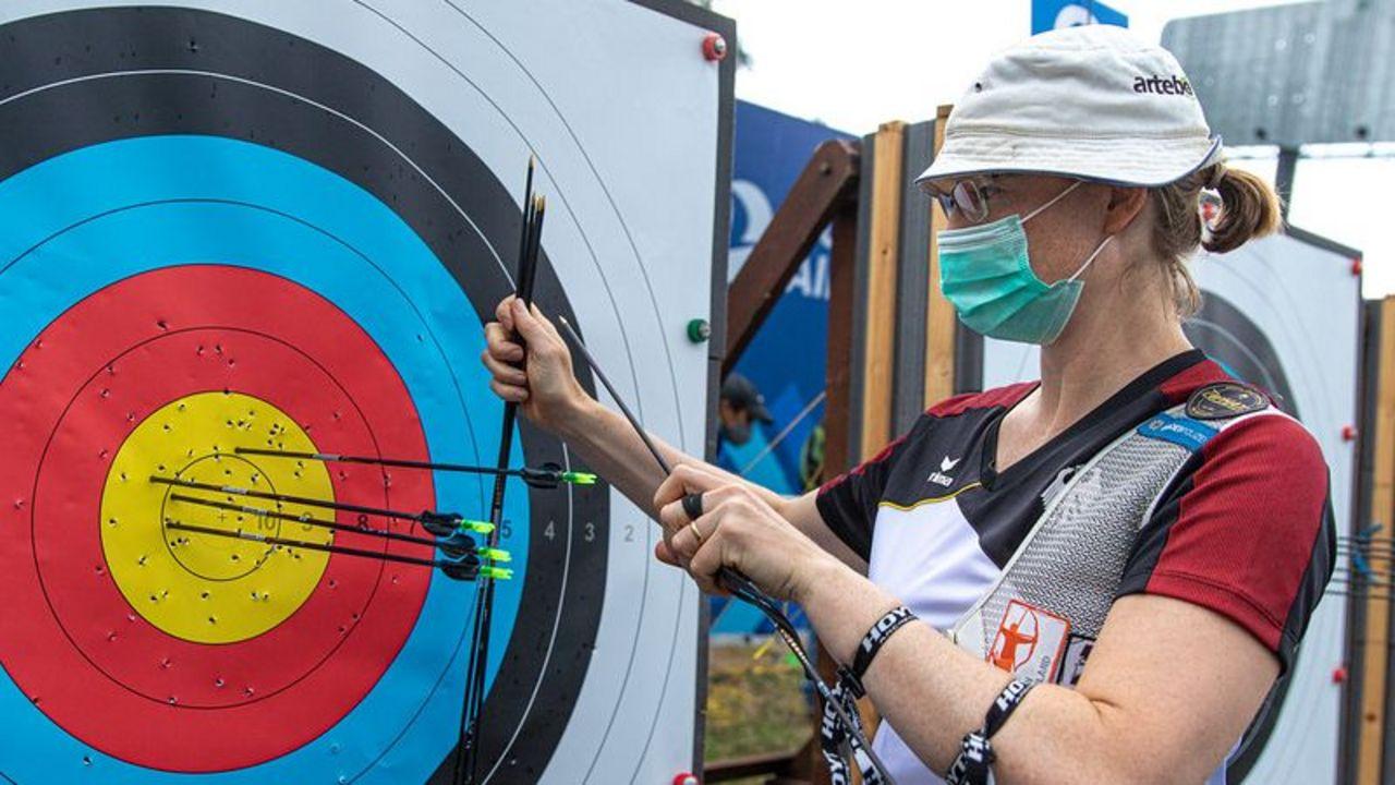 "Foto: World Archery / Wie viele Pfeile kann Lisa Unruh in Lausanne ""ins Gold"" platzieren?"