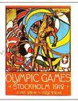 Plakat Olympische Spiele 1912