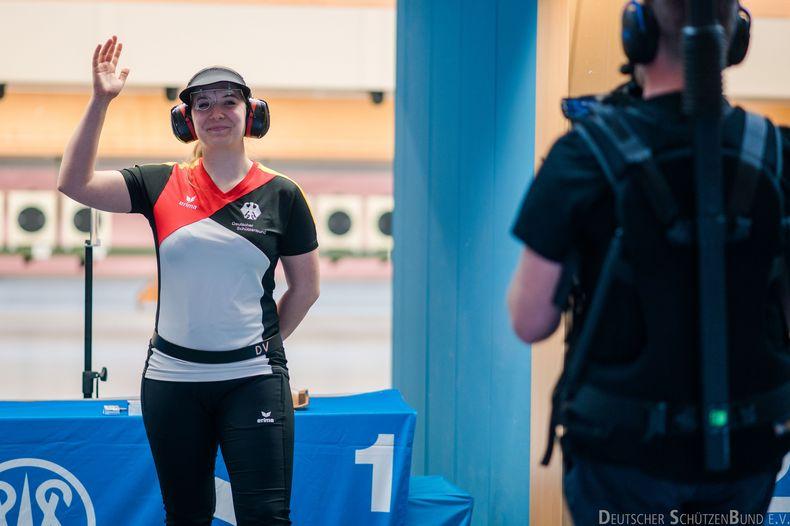 Foto: DSB / Würde am liebsten aus dem Finale grüßen: Doreen Vennekamp.