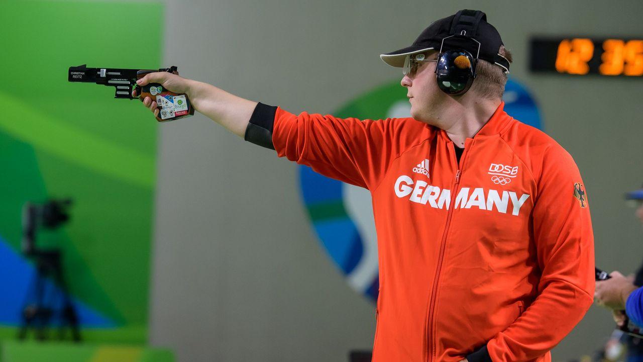 Bild: ISSF / Spitzenathleten wie Christian Reitz müssen noch Geduld beweisen bis feststeht, ob sie ihr Ticket für Tokio sicher in der Tasche haben und endlich der Startschuss fällt.