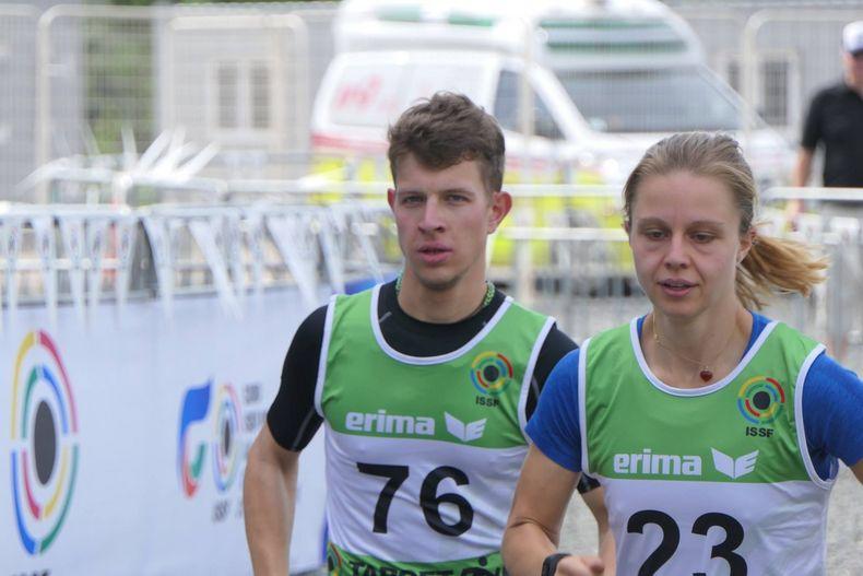 Foto: DSB / Jana Landwehr will neben ihren gewohnt guten Laufleistungen den Fokus auf das Schießen legen.