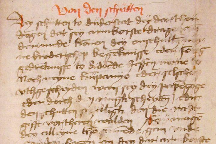Schützenordnung Duderstadt, 1434