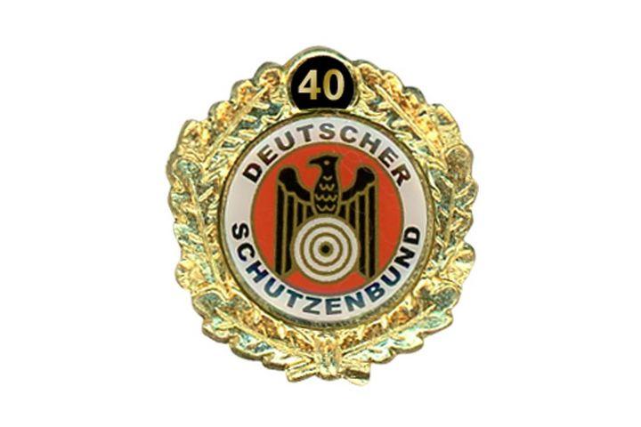 Mitgliedschaft 40 Jahre