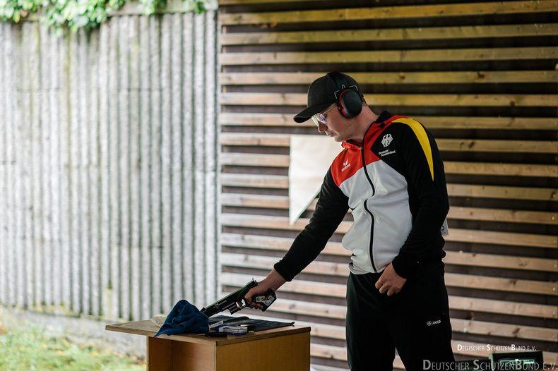 Foto: DSB / ...oder Aaron Sauter?! Wer wird Christian Reitz zu den Olympischen Spielen in Tokio begleiten? Die Frage klärt sich am Samstag in Suhl.