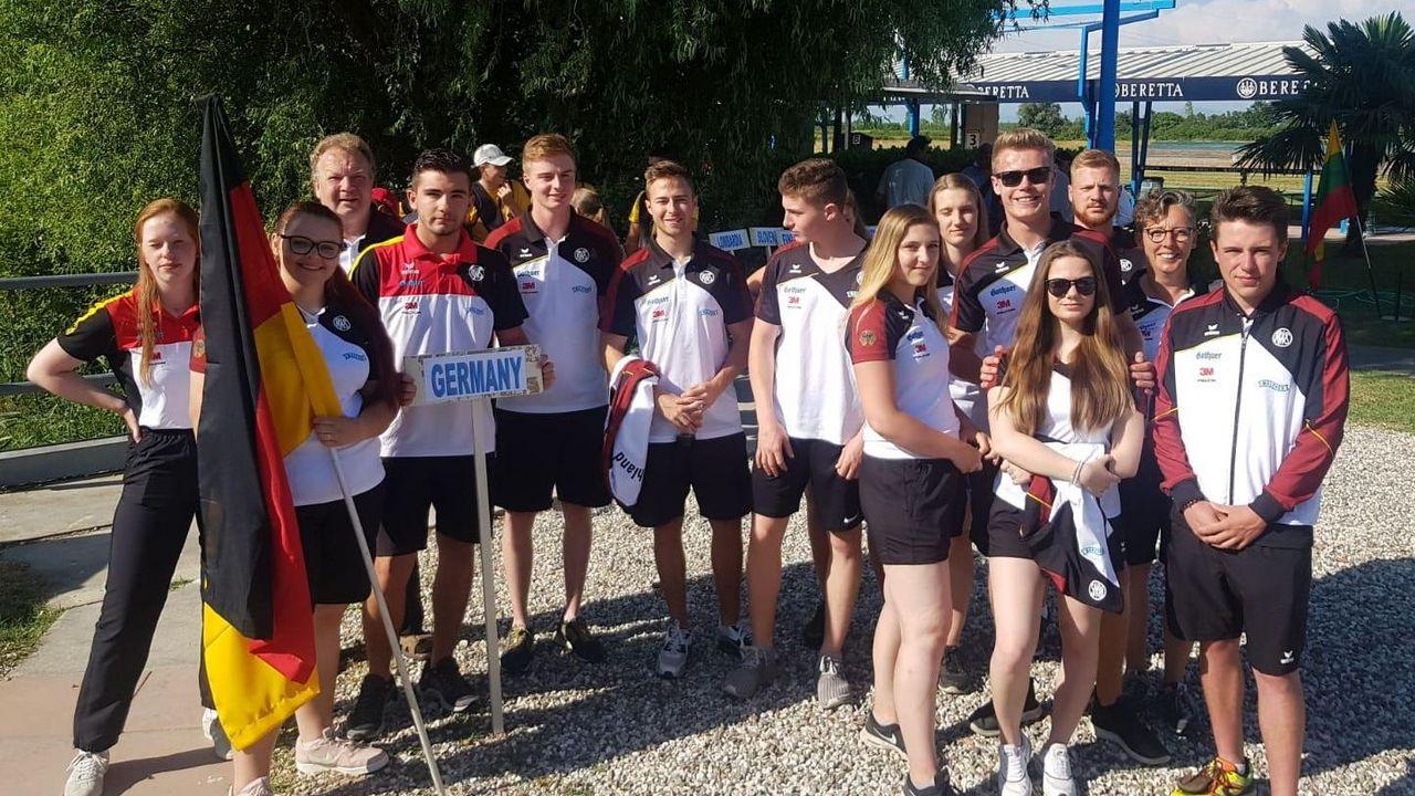 Foto: Kathrin Murche / Beste Laune herrschte beim deutschen Team in Porpetto.