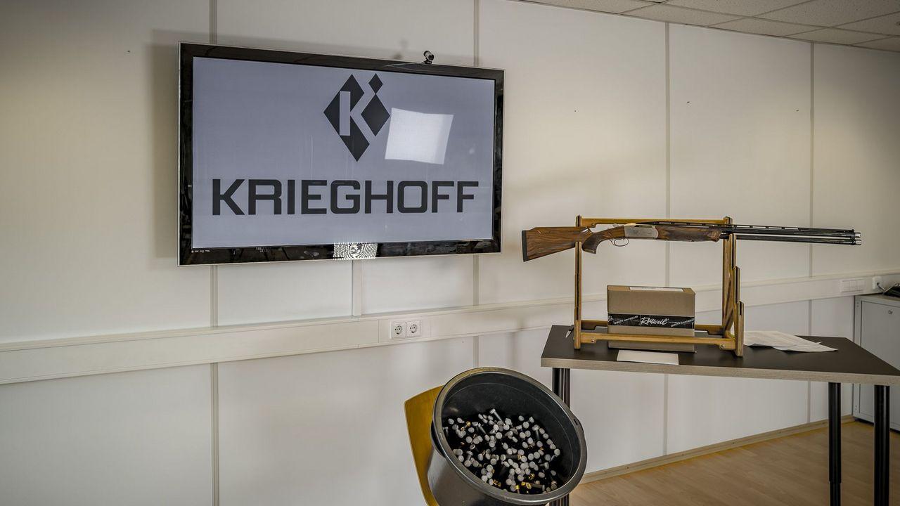 Foto: Krieghoff / Der Hauptpreis der Lotterie des Förderkreis Wurfscheibe: Die K-80 Flinte.